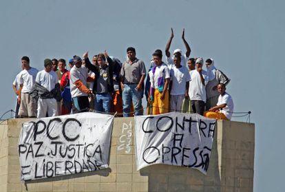 Presos durante rebelião de maio de 2006.