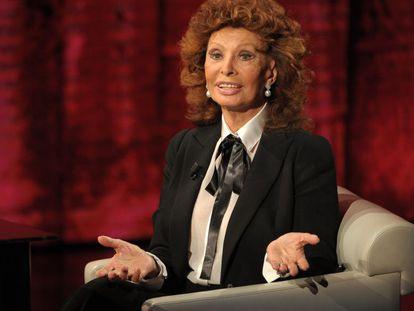 Trecho de uma campanha da Dolce & Gabbana com Sophia Loren.