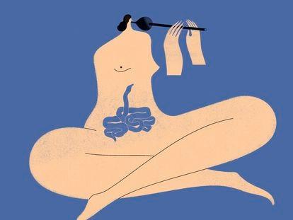 Ilustração para o tema 'O que o corpo pede?'.