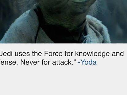 Google te deixa escolher entre os dois lados da Força de Star Wars