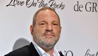 O produtor Harvey Weinstein