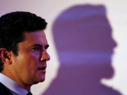 Sergio Moro, en um evento no Paraná.