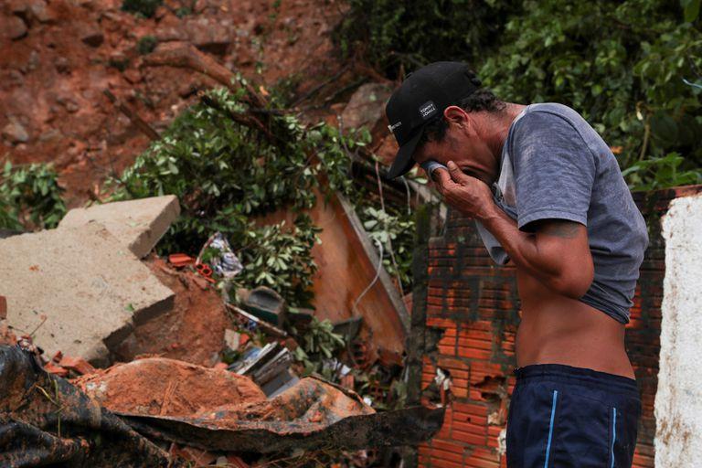 Guarujá foi a cidade mais afetada pelas chuvas na Baixada Santista.
