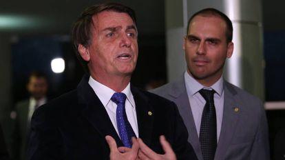 Jair Bolsonaro na Câmara, em imagem de 2016.