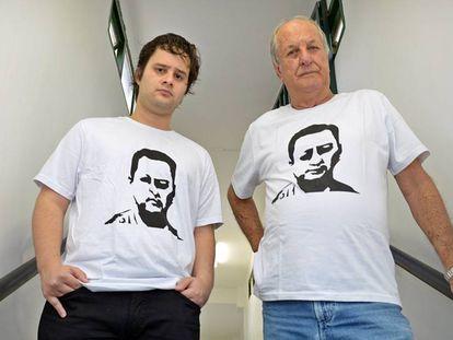 Pai e filho de Valério cobram punição por assassinato de jornalista.