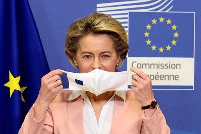 A presidenta da Comissão Europeia, Ursula Von der Leyen.