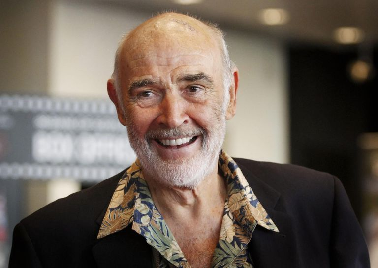 Sean Connery no Festival de Cinema de Edimburgo, em 2010.