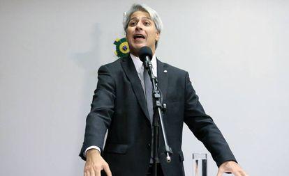 O deputado federal Alessandro Molon (Rede-RJ), que pediu o impeachment do presidente Michel Temer.