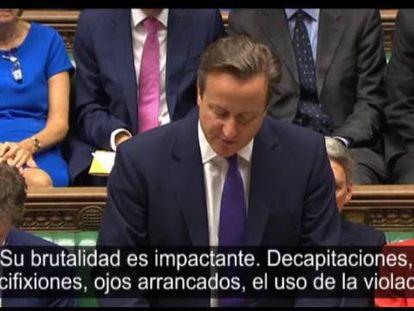 Cameron, sobre a participação do Reino Unido no Iraque.