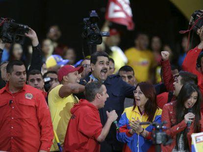 Maduro, em um ato político na sexta-feira passada.