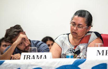 Suely Araújo, presidente do IBAMA, e Hugo Loss, gerente do IBAMA em Altamira.