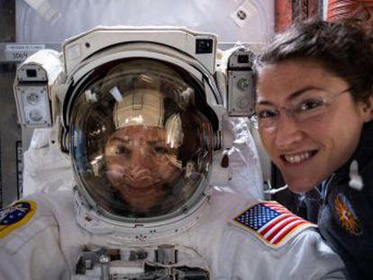 Este marco na igualdade entre os astronautas havia sido suspenso pela NASA em março por falta de trajes