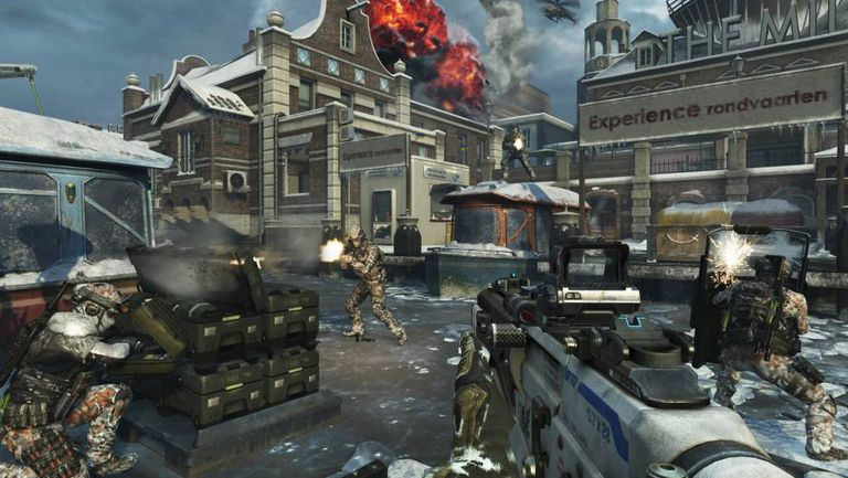 Imagem do game 'Call of Duty. Black Ops 2'.