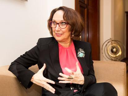 A secretária-geral ibero-americana, Rebeca Grynspan, em uma imagem de arquivo.