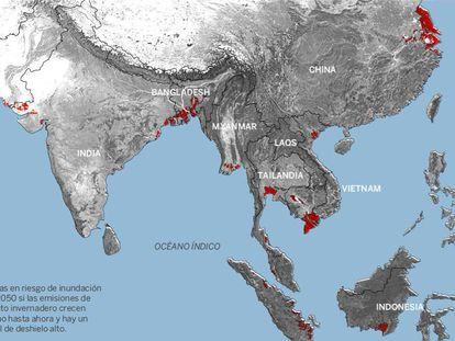 Aumento do nível do mar ameaçará 300 milhões de pessoas em 2050