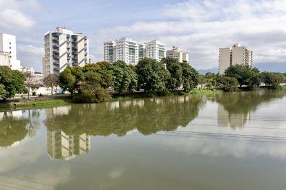 Vista da cidade de Resende (RJ), cidade onde fica a Academia Militar das Agulhas Negras (AMAN), no dia 24 de junho de 2021.