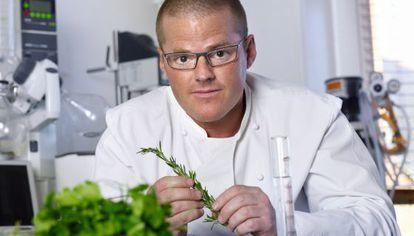 O cozinheiro britânico Heston Blumenthal.