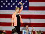 Elizabeth Warren, el pasado jueves en Raleigh (Carolina del Norte).
