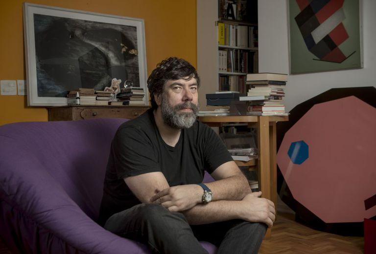 O psicanalista Tales Ab'Saber, em São Paulo, onde vive