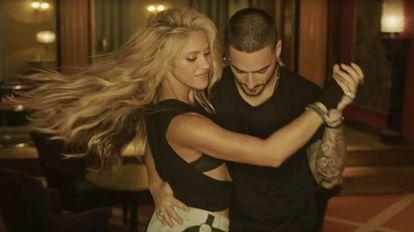 Shakira e Maluma