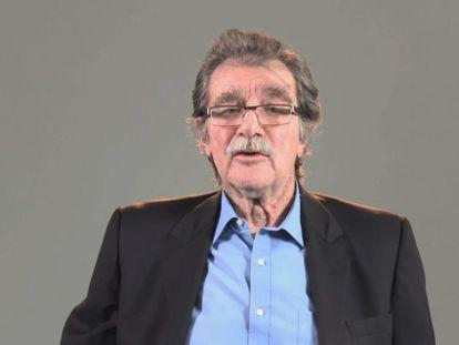 O diretor do jornal TalCual, Teodoro Petkoff.