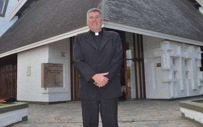 O sacerdote argentino Eduardo Lorenzo.