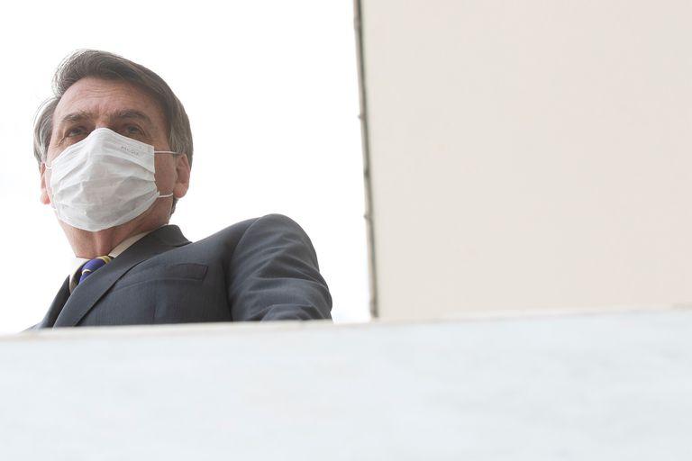 Bolsonaro em Brasília, na última quarta-feira.