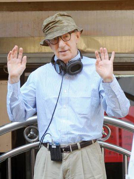 Woody Allen, em 2016, durante a rodagem de 'Café Society'.