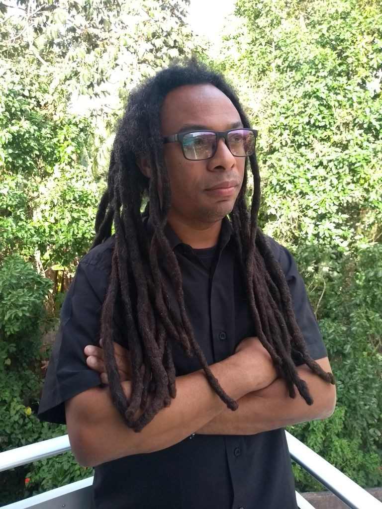 O historiador e sociólogo Lourenço Cardoso.