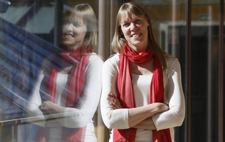 Catherine Heymans, física e especialista em matéria escura na Fundação BBVA, em Madri.