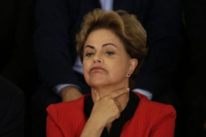 Rousseff no dia 13, em Brasília.
