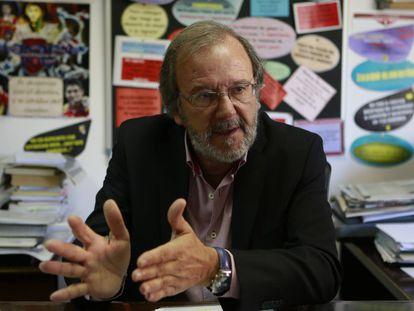 Pablo del Río, em seu consultório no CSD.