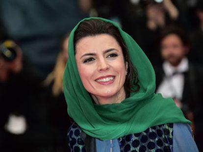 A atriz iraniana e membro do júri de Cannes Leila Hatami.