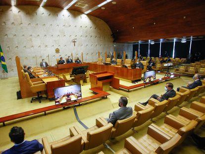 Sessão de Abertura do Ano Judiciário no STF, em imagem de arquivo.