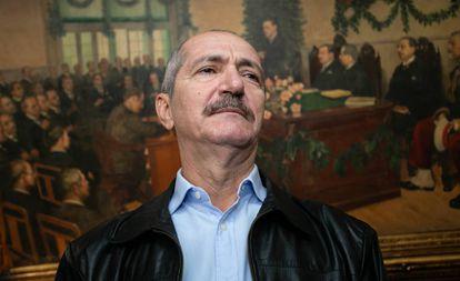 Aldo Rebelo em encontro na Sociedade Rural Brasileira, no centro de São Paulo, em abril.