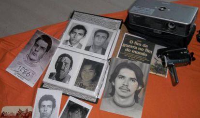 Material que Mercês costuma levar nas expedições em busca dos desaparecidos do Araguaia.