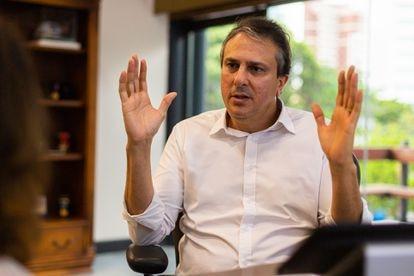 O governador do Ceará, Camilo Santana.