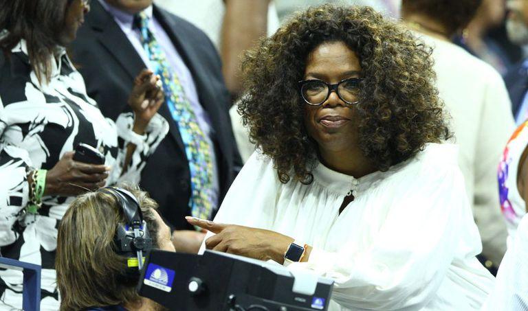 A apresentadora Oprah Winfrey.