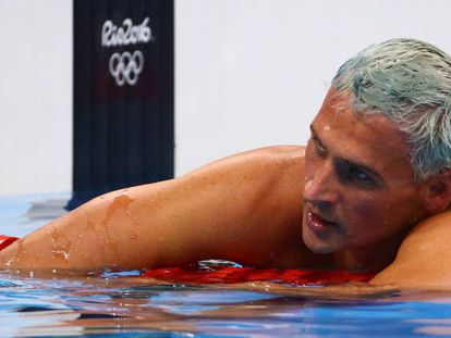 Ryan Lochte no Rio de Janeiro
