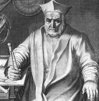 O astrônomo jesuita Christopher Clavius.