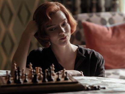 Anya Taylor-Joy, protagonista de 'O gambito da rainha.