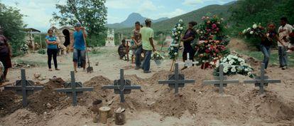 Um fotograma do documental 'Cartaz Land'.
