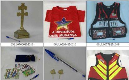 Presentes dados ao presidente Lula, catalogados em acervo. (Para ver mais imagens clique na foto)