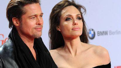 Brad Pitt e Angelina Jolie em 2010