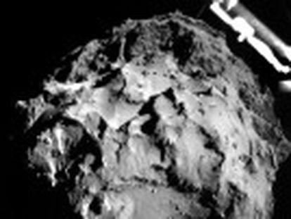 Especialistas não sabem em que ponto da superfície do cometa o robô foi parar, mas ele funciona e está enviando dados