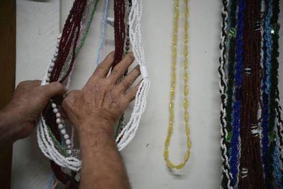 Tenda Espírita Vovó Maria Conga de Aruanda, no Rio de Janeiro.
