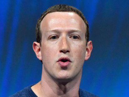Mark Zuckerberg, conselheiro delegado de Facebook.