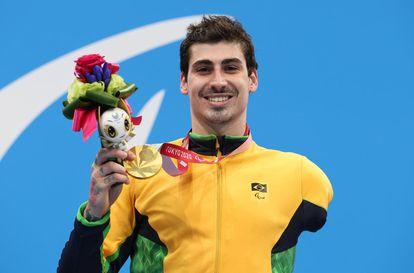 Talisson Glock conquistou três medalhas, uma delas de ouro.