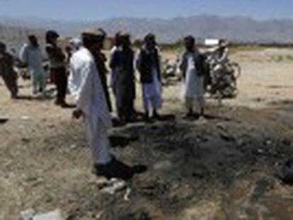 Ganhador do primeiro turno, o candidato denuncia uma fraude maciça para favorecer o seu rival Ghani