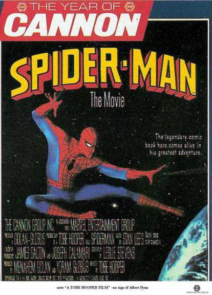 Cartaz do Spiderman de Tobe Hooper.